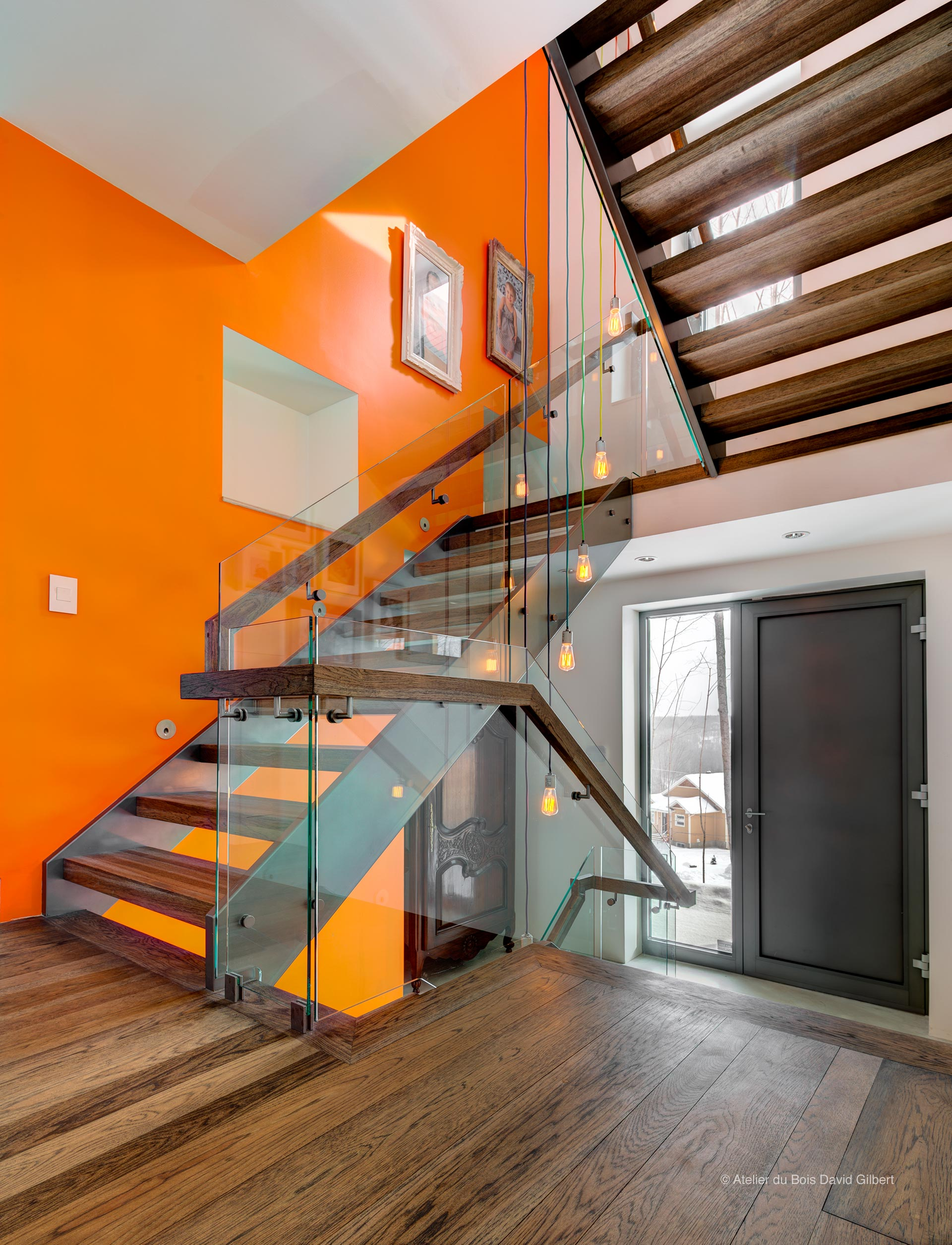 david gilbert escaliers bois verre et m tal. Black Bedroom Furniture Sets. Home Design Ideas