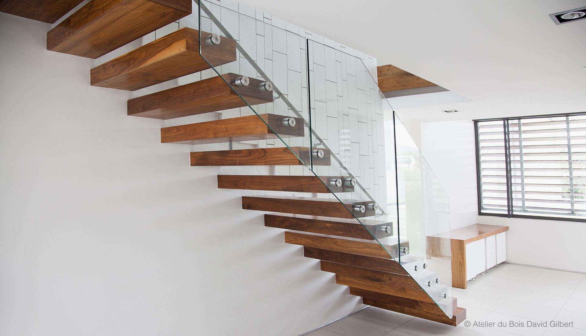 escalier bois et verre escaliers deparis escaliers en bois sur mesure ile de france fabrication. Black Bedroom Furniture Sets. Home Design Ideas