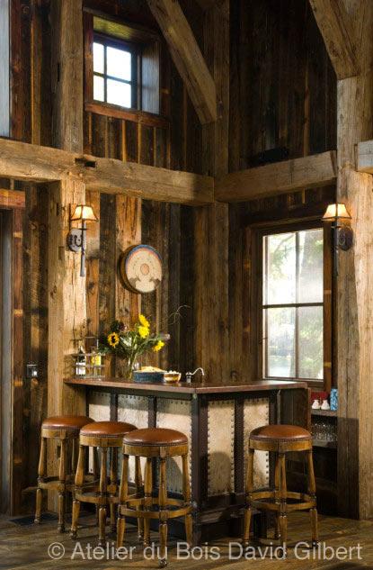 David gilbert rev tement int rieur en bois de grange for Revetement interieur