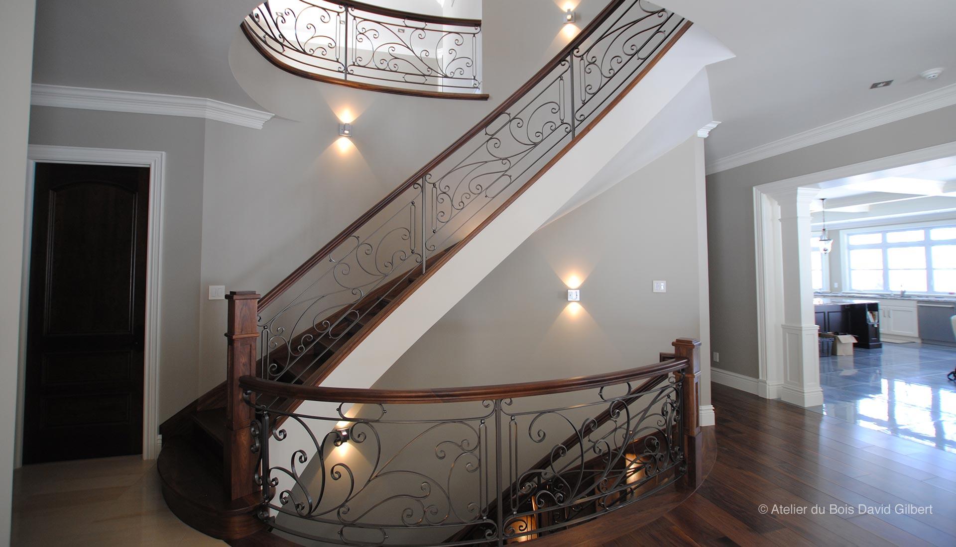 Escalier Bois Metal Noir david gilbert | escaliers bois et métal – photos